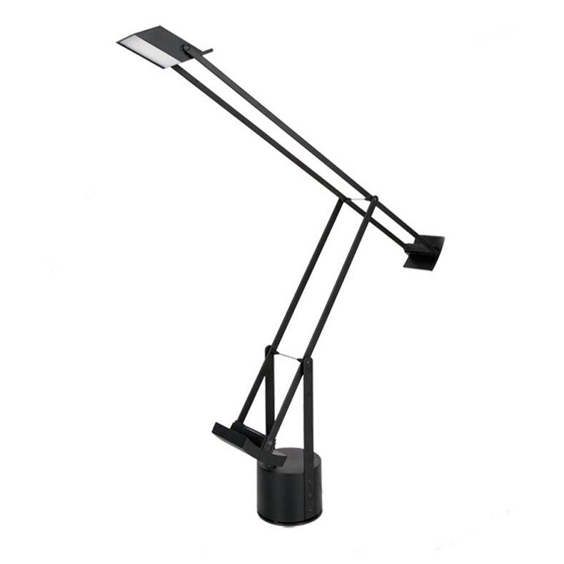 Ecolight современные светодиодные настольные лампы 5 ватт теплый белый черный Живопись Led лампа для чтения студент настольная лампа для местный