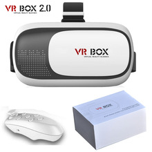 3D VR Glasses VR BOX 2.0 Headset Google Cardboard Virtual Reality Glasses with Retail package For 4.0″-6.0″ Smartphone