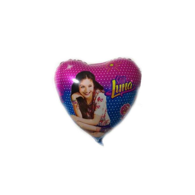 Новый 18 дюймов соевый Luna алюминиевой пленки шар оптовая продажа; детская одежда; День рождения украсить воздушные шары