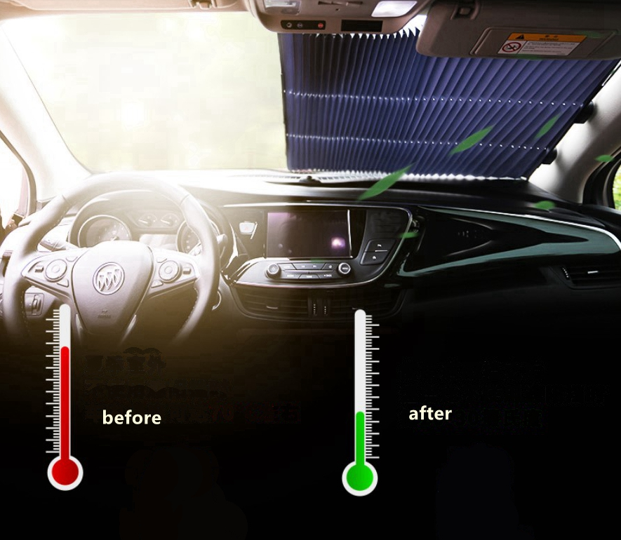 Image 4 - Car Window Sunshade Windshield Curtain Cover Sun Visor For KIA Optima KX CROSS Sportage Niro Forte RIO 4 K2 KX3 KX5 Ceed Soul-in Windshield Sunshades from Automobiles & Motorcycles
