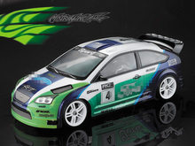 купить 1set FOCUS ST WRC PC drift RC PC body shell 190mm width Transparent clean no painted drift body RC hsp hpi trax Tamiya дешево