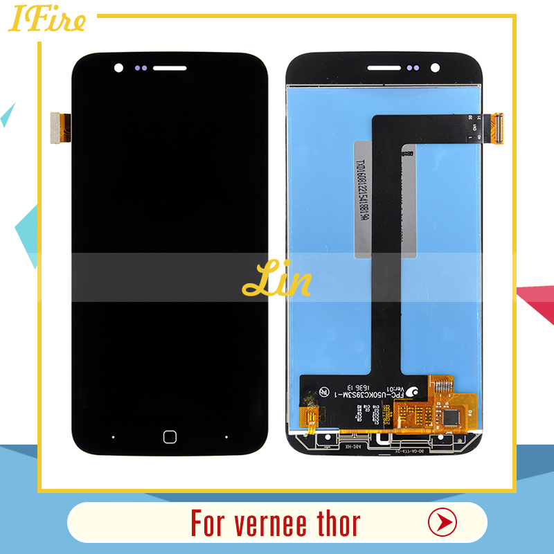 Ifire best sale For vernee thor lcd display screen with touch screen glass pannel digitizer assembly lcds with tools free ship