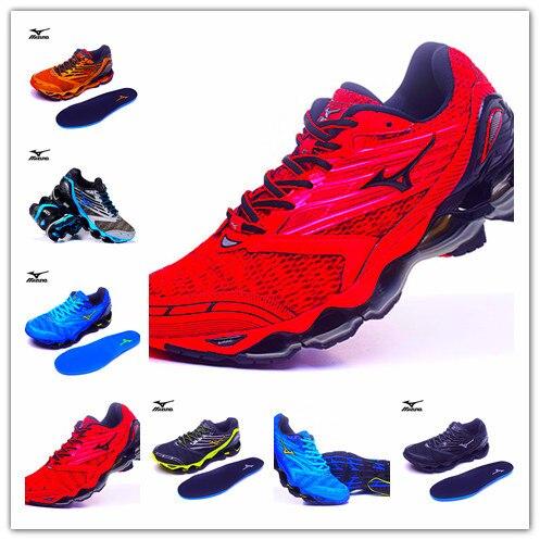 20eaefdf83cd Mizuno Wave Prophecy 7 Профессиональная Мужская Спортивная обувь уличная  Мужская сетчатая вентиляционная Тяжелая атлетика обувь 6