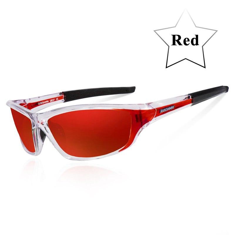 Queshark UV400 Polarized Cycling Glasses Sports Bicycle Sunglasses Bike Glasses Ski Goggles Fishing Cycling Hiking Eyewear 10