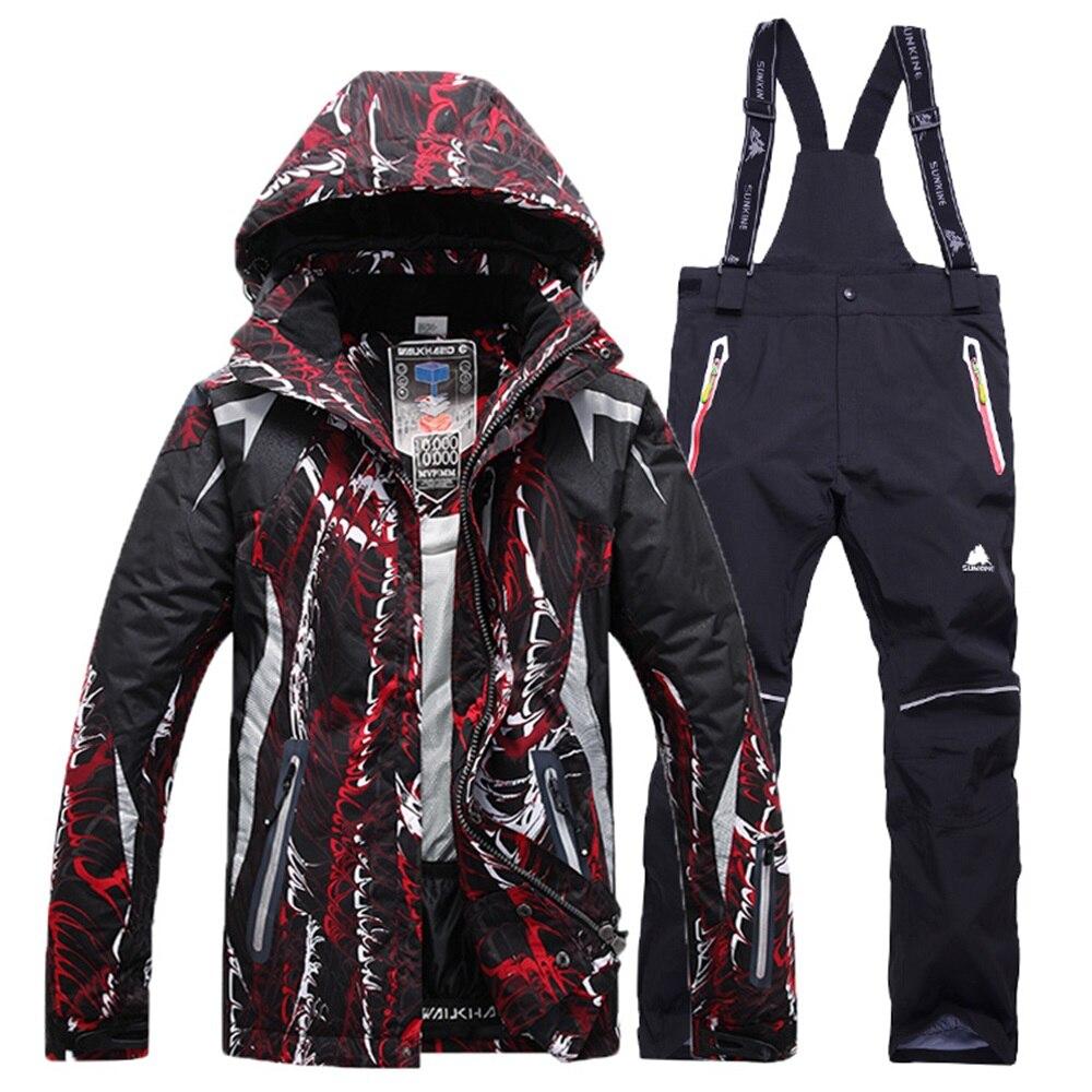 Mens jackets sale - Sale 2016 Winter Men Skiing Jackets Windproof Waterproof Snow Thicken Thermal Snowboarding Suit Breathable Jacket Jean
