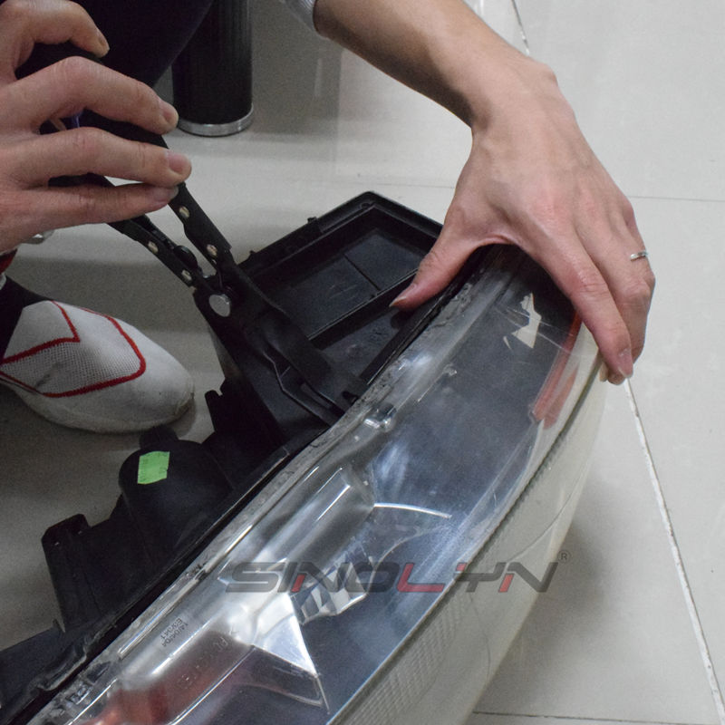 de farol automatico bi xenon projetor bracadeira 05