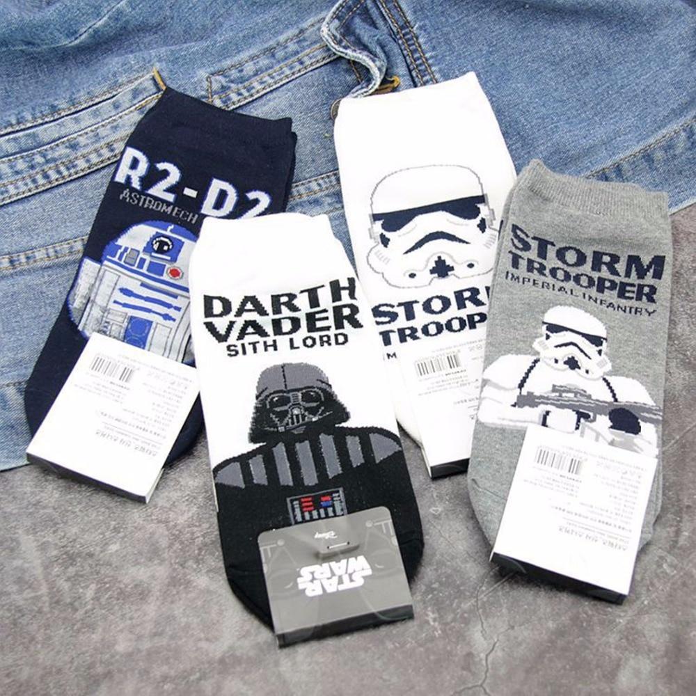 Chaussettes Bas, collants, chaussettes Star Wars Chaussettes Darth Vader 2 Pack homme chemise noir