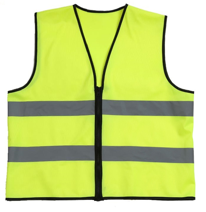 Traffic Safety Reflective vest Closure by zipper maritime safety