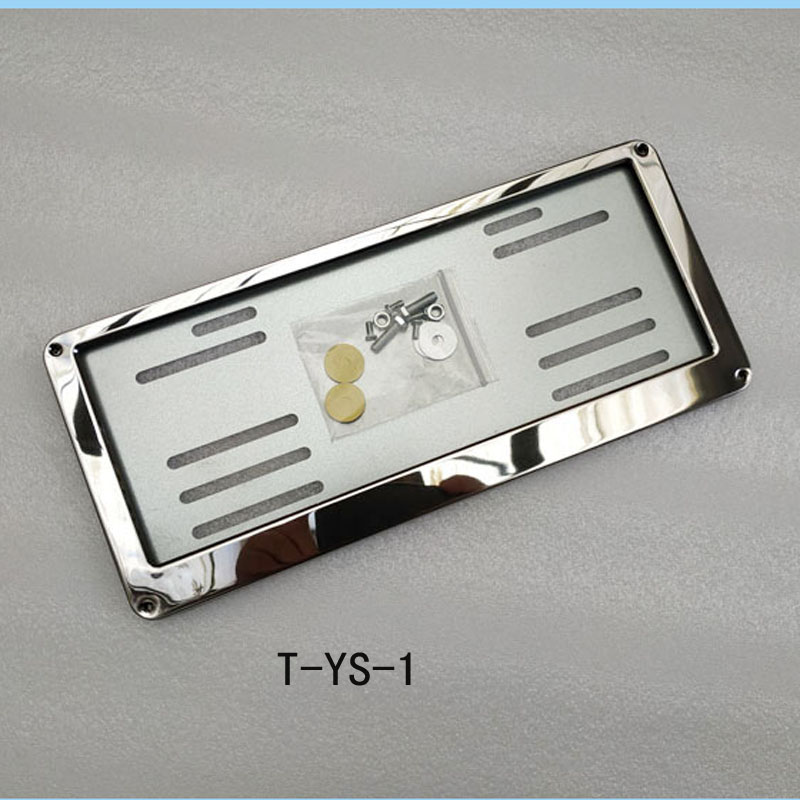 Image 3 - license plate frame For suitable fit thailand license plate frame plate number cover car accessories-in License Plate from Automobiles & Motorcycles