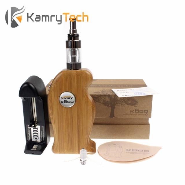 Kamry K600 Electronic cigarette 3.0ml 18650 Vape mod 2000mAh Electronic Hookah Pen k600 wooden box mod vape pen