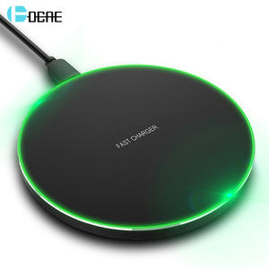 DCAE 15W Fast Charging Wireless Charger for Samsung S10 S9 S8 Note 10 USB Type C 10W Qi Quick Charge Pad For iPhone 11 XS XR X 8