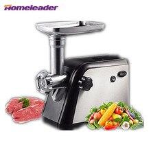 Homeleader Electric Automatic Meat Grinder Kitchen Meat Mincer Sausage Vegetable Meat Slicer For Household Commercial