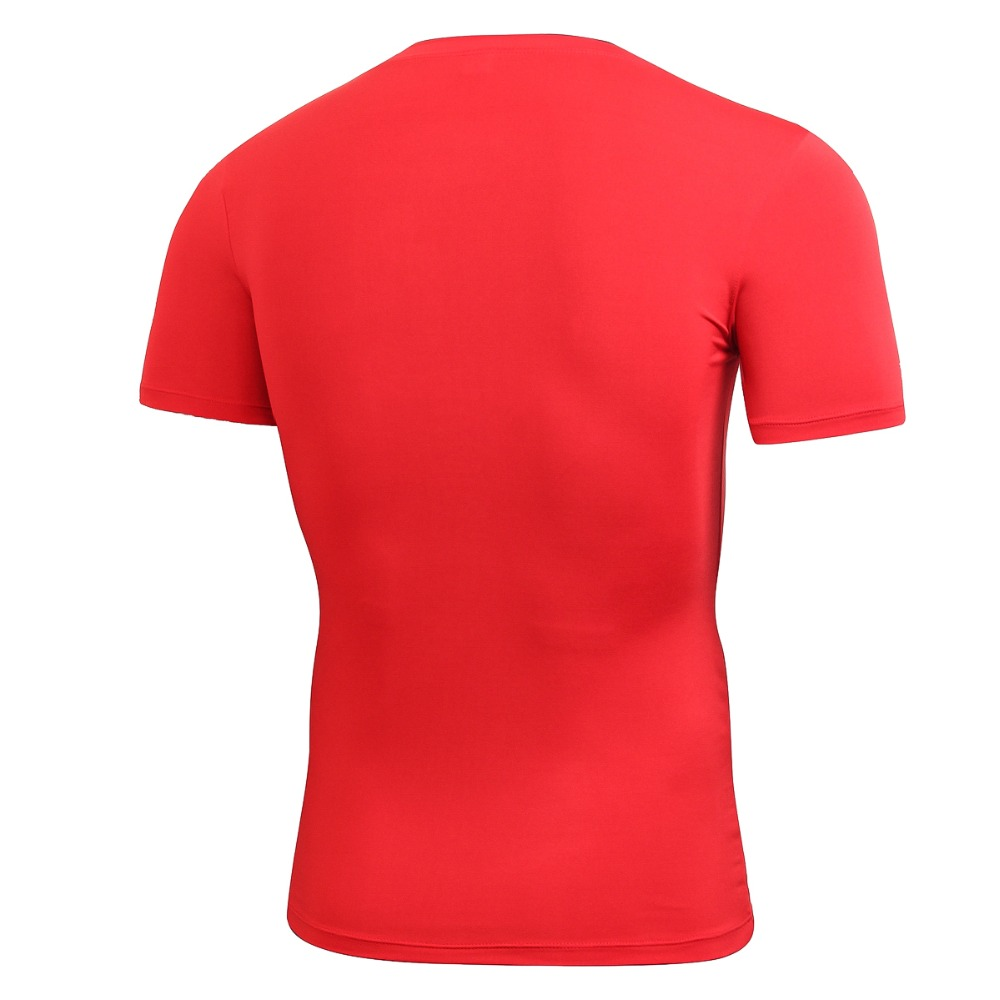 2018 Summer Men Compression Basketball Running Tops Short Sleeve Sports Tight T Shirts Fast Drying Fitness GYM Base Layer Tops