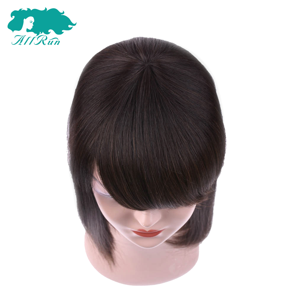 Allrun150% Density 360 Lace Frontal Bob Wigs Pre Plucked With Baby Hair Black Brazilian Non Remy Human Hair Lace Wigs For Women
