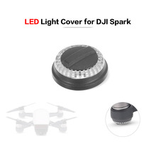 LED Light Protector Shell Lamp Cover Lampshade Motor Base Component for DJI Spark FPV Quadcopter(China)
