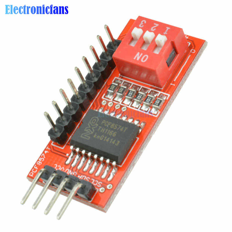 1PCS PCF8574T I//O I2C Port Interface Support Arduino Cascading Extended Module K