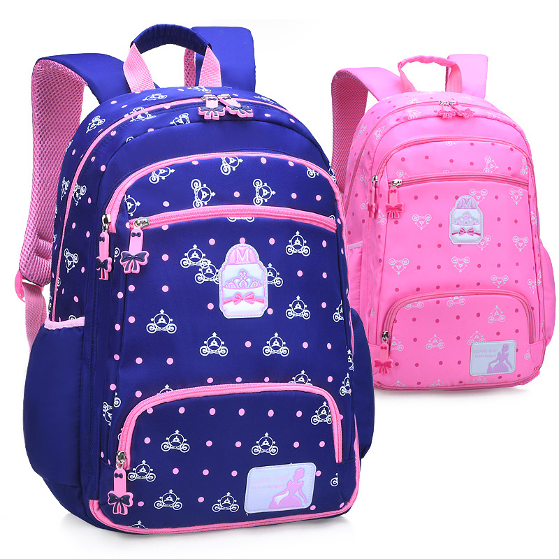 Children SchoolBags For Teenager Girls Bookbags Kids High Quality Oxford Backpacks Child Big Capacity Backpack To Primary School