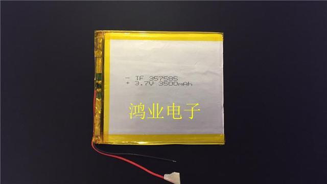 3,7 V полимерная литиевая батарея 357585P 3500MAH Планшетный Компьютер PSP пульт дистанционного управления GPS перезаряжаемое сокровище