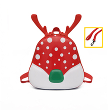 цена 3D New Kids Animal Backpacks Baby Girls Boys Toddler Schoolbag Children Cartoon Elk Bookbag Kindergarten Toys Gifts School Bags