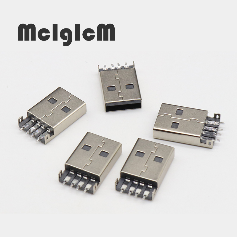 10pcs/lot Mini USB 2.0 4Pin A Type Male Plug SMT Connector Black for Data Transmission Charging Free Shipping10pcs/lot Mini USB 2.0 4Pin A Type Male Plug SMT Connector Black for Data Transmission Charging Free Shipping