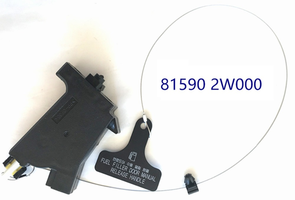 FUEL GAS DOOR RELEASE ACTUATOR 815902W000 For HYUNDAI SANTA FE SPORT 2013-2018 V
