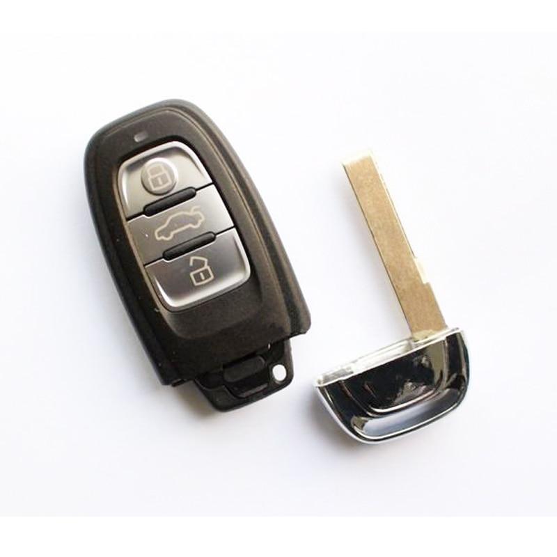 Prix pour 3 Boutons À Distance Clé Pour Audi A4L, Q5 Smart 315/433/868 MHZ, modèle: 8T0 959 754C (Mais Couverture Imprimée 8T0 959 754J/4D0 959 754J)
