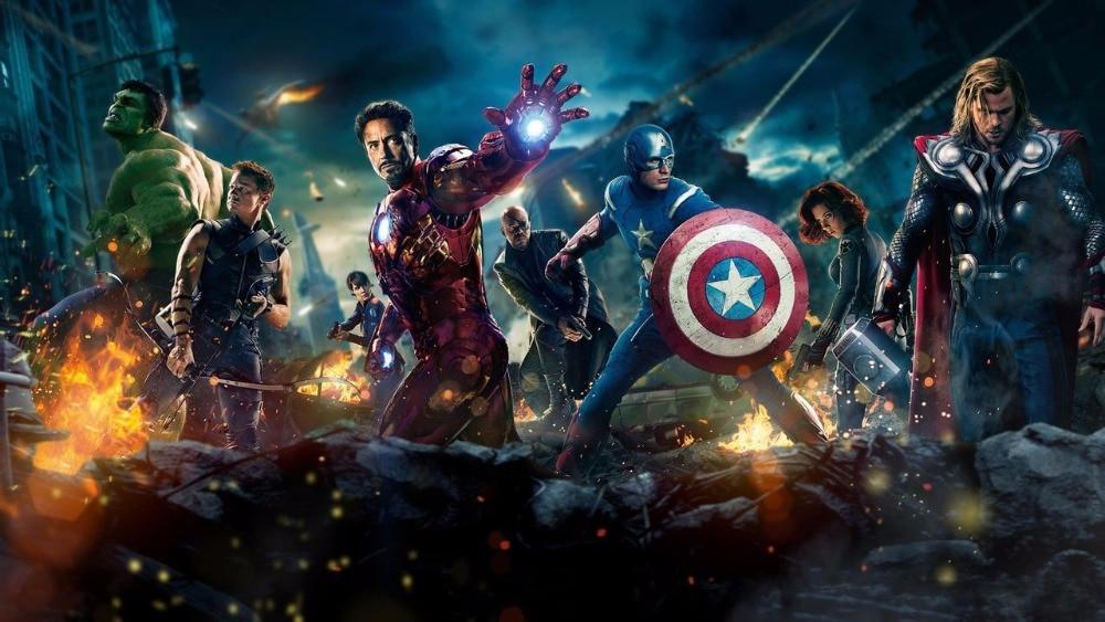"""Супергерои Marvel Мстители танос Черная пантера Капитан Америка Тор Железный человек антман халкбастер Халк фигурка 1"""" 30 см"""