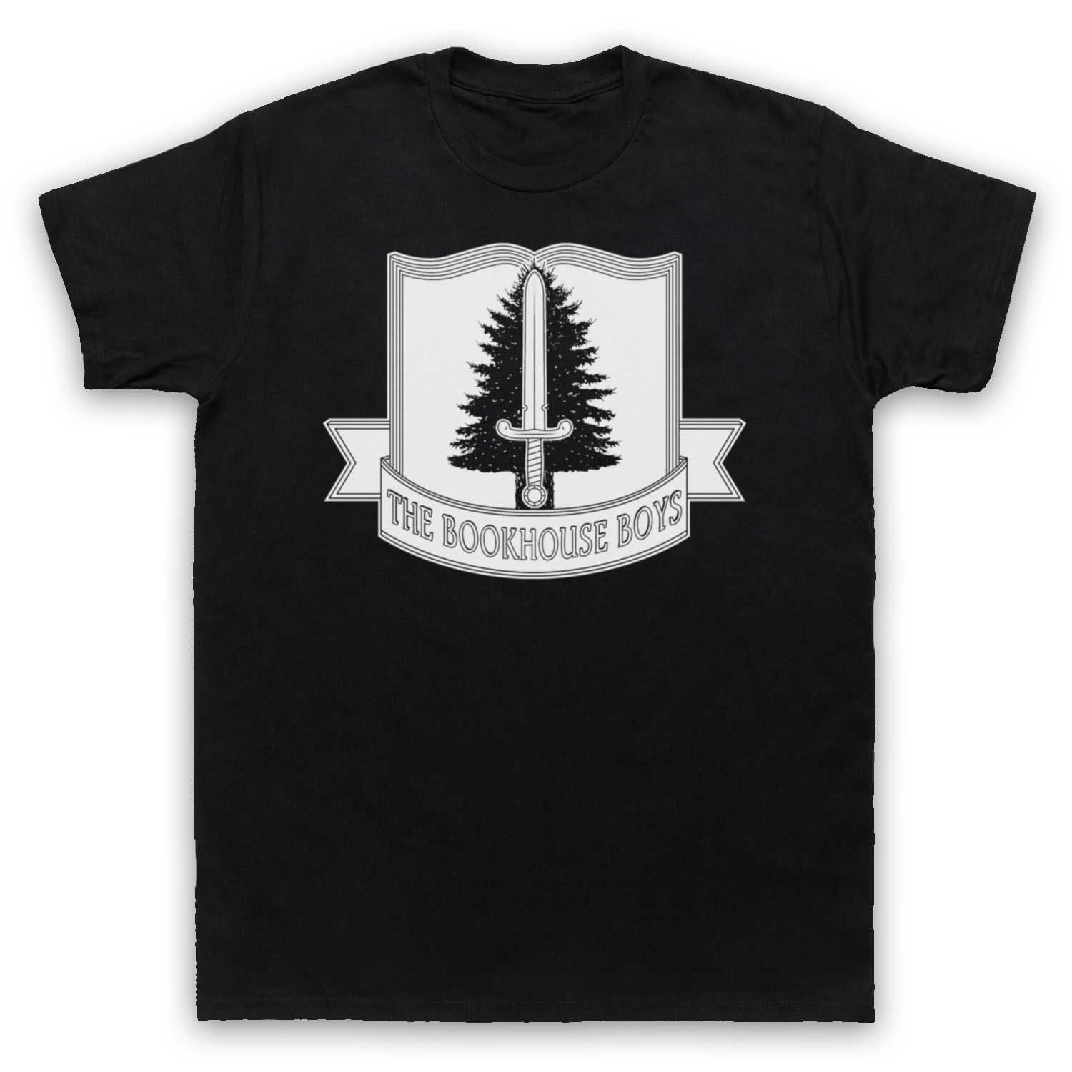 THE BOOKHOUSE BOYS UNOFFICIAL TWIN PEAKS T-SHIRT MENS LADIES KIDS SIZES White Style