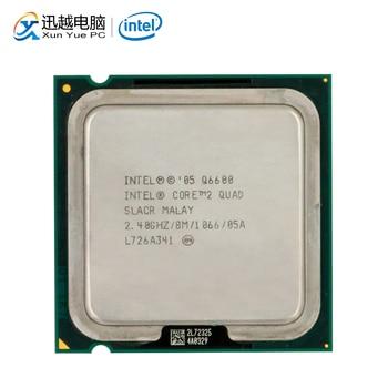 Intel Core 2 Quad Q6600 настольный процессор четырехъядерный 2,4 ГГц 8 Мб кэш FSB 1066 LGA 775 6600 б/у процессор