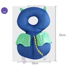 Head Protection Pad Baby Anti-Fall Head & Back Support Pillows Baby Walkers Protective Pad