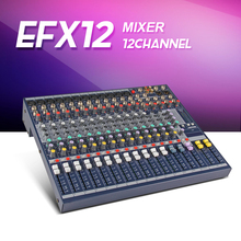 Highest quality!!!EFX12 Audeo mixer DJ mixer Stage performances Mixer with Effects 110V-220V Voltage