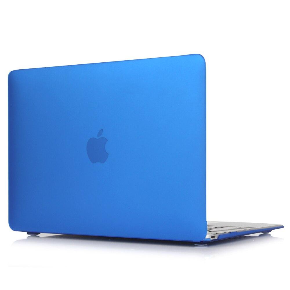 "Sky Blue Rubberized Matte Hard Case Cover Skin Set for Apple Macbook Pro13/""15/"""