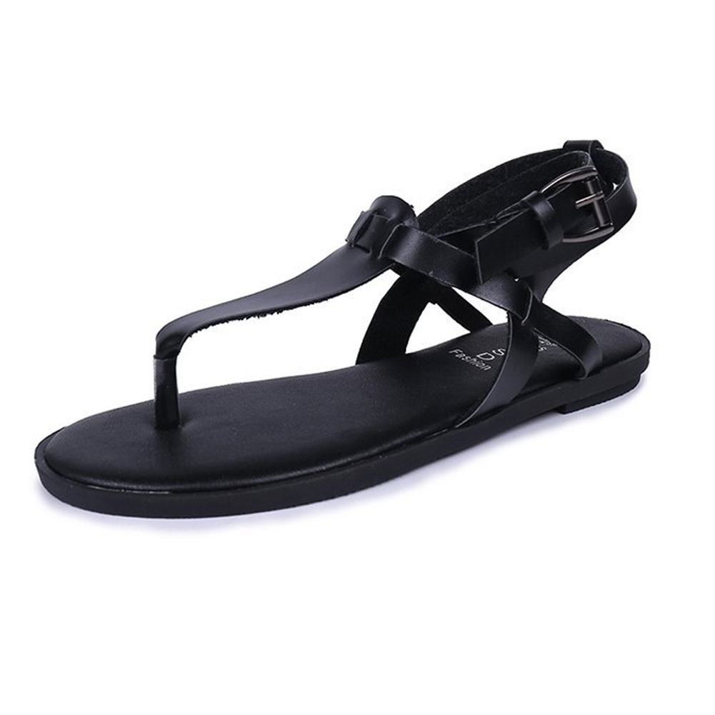 8393ca969c3e8 2018 Fashion Women Flat Sandals Goth Gladiator Ankle Strap Buckle Flip Flop  Shoes Sexy Lace Up Ladies Beach Shoes clip toe shoes