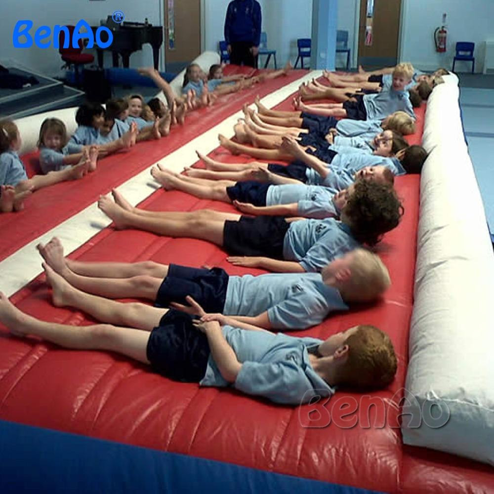 Ga011 Бесплатная доставка 12 м 39ft надувной воздушный трек надувные в стиральной машине отслеживать гимнастика надувной коврик для гимнастики