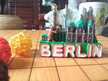 Berlin, Germany architectural souvenirs refrigerator stickers