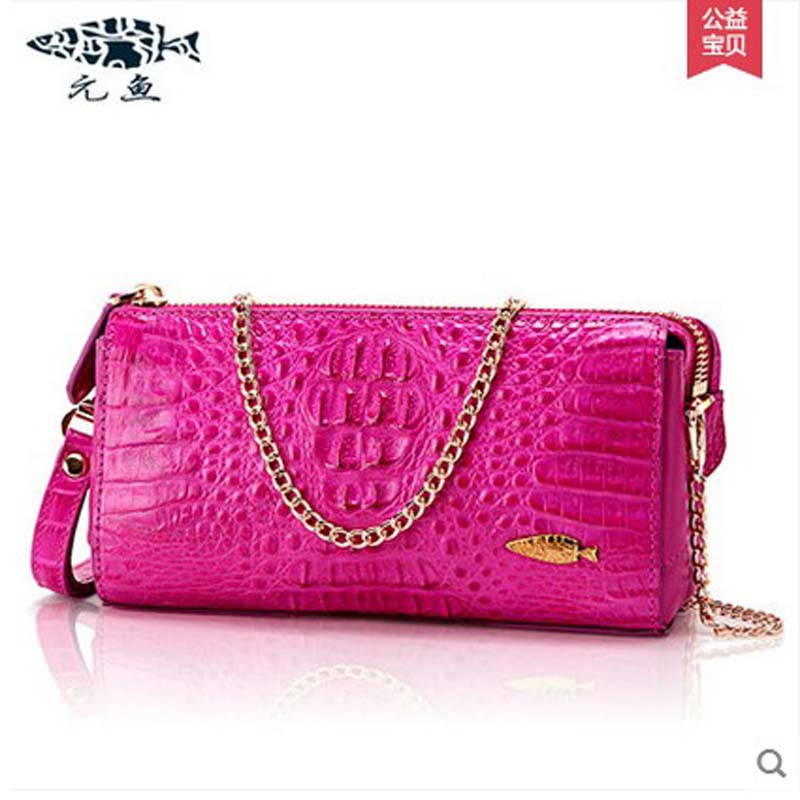 yuanyu 2018 new hot free shipping handbag inclined single shoulder bag leather bag small sweet  chain bag  fashion women handbag yuanyu real snake skin women bag new decorative pattern women chain bag fashion inclined single shoulder women bag