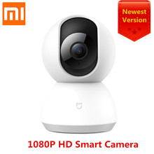 2018 Newest Xiaomi Mijia Mi Smart Cam Cradle Head Version 1080P HD 360 Degree Night Vision Webcam IP Camcorder WIFI App Control(China)