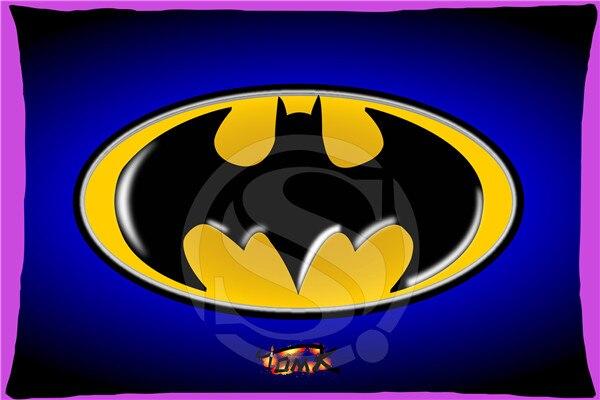 Ukpi F43 Top Selling Logo Batman Simbolo Custom Zippered Rectangle