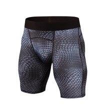 d40d676bdc Nuevo Mens Compression Shorts verano python Bermudas Shorts gimnasios  Fitness hombres CrossFit Bodybuilding pantalones cortos pesas