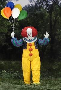 Image 4 - Korku filmi It karakter NECA Joker balonlar Pennywise Action Figure modeli oyuncak noel cadılar bayramı hediyeler