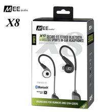 Mee audio X8 segura-Bluetooth Estéreo inalámbrico Deportes in-ear monitor impermeable aislamiento de ruido HiFi auricular con micrófono