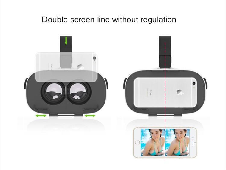 FIIT VR 3D Virtual Reality Video Helmet Cardboard 2.0 VR Glasses Box for 4.0-6.5 inch Smartphone Lightweight Ergonomic Design (5)