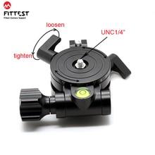 FITTEST JZ выравниватель базовое измерение Высокоточный регулятор уровня для камеры горизонтальный 1/4 винтовое крепление панорамная головка штатива