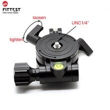 FITTEST JZ Leveler Base Measurement High Precision Level Regulator for Camera Horizontal 1/4 Screw Mount Panoramic Tripod Head
