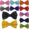 Lo nuevo Clásico de La Moda corbata de Lazo de La Novedad Mens Tuxedo Ajustable Bowtie Corbatas Corbata de Boda