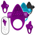 Silicone Dual Purpose Cock Ring for Men,Vibrating Penis Rings Women Adult Sex Products Clit Vibrator Clitoral Stimulation