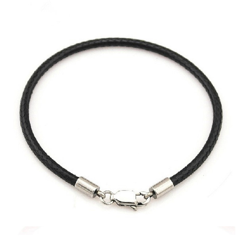 Fashion Jewelry Leather Red Bracelet Girls Hand Rope Thread Black Bracelet chain For Women Men couple wedding party gifts in Charm Bracelets from Jewelry Accessories