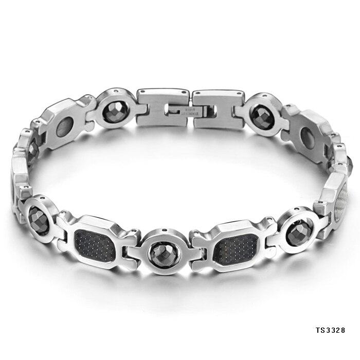 Fashion joyas de plata 925 belt magnetic men jewelry health care bracelet hematite multifunctional anti-fatigue Men - Vivi LUO's store