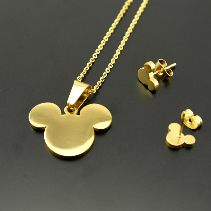 316l stainless steel bear pendants necklaces earrings for for Jewelry stores in bear delaware