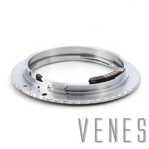 Image 4 - Адаптер Venes для Nikon F, обновленная диафрагма 2 го поколения, AF, подтверждение типа B, Крепление объектива к зеркальной камере Canon (D)